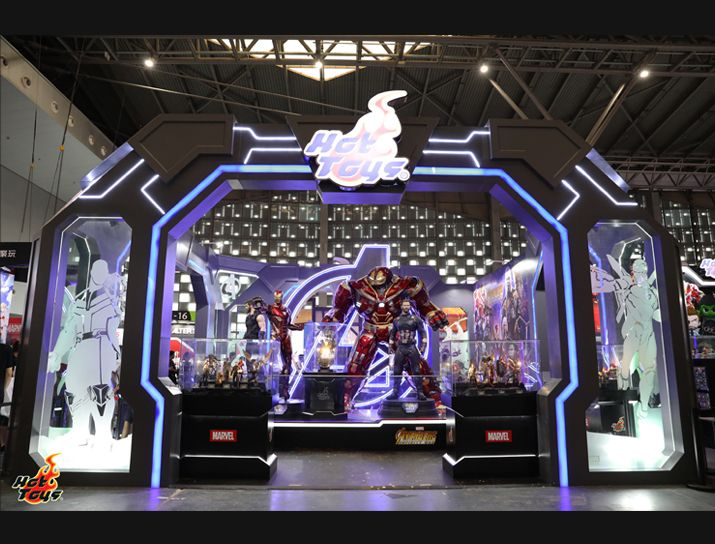 Hot Toys : Hot Toys Exhibition @ China CCG Expo