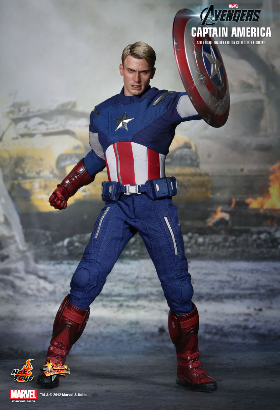 1 The Magician On Pinterest: Captain America 1/6th Scale