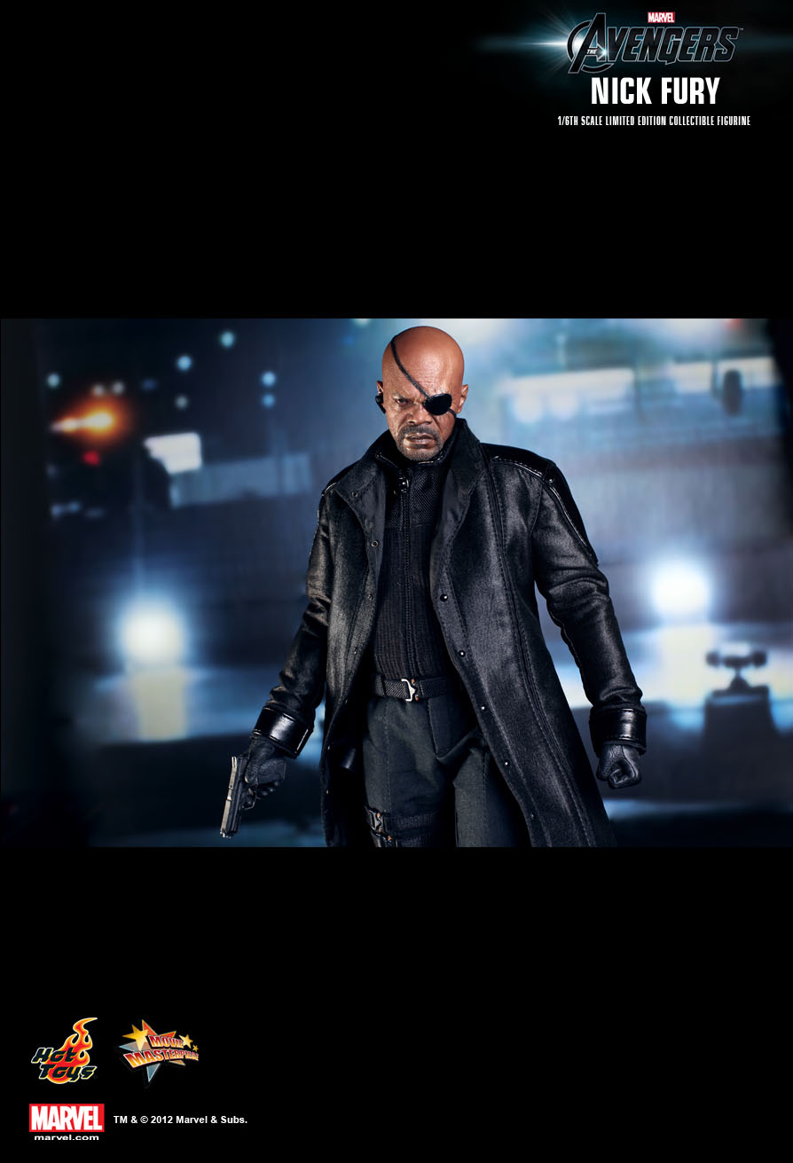 Hot Toys The Avengers Nick Fury 1 6th Scale Limited