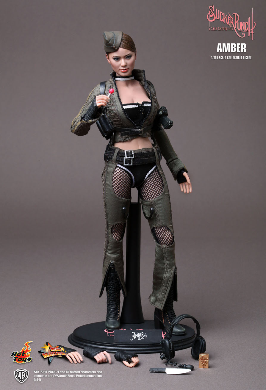 Hot Toys Sucker Punch Amber 1 6th Scale Collectible Figure
