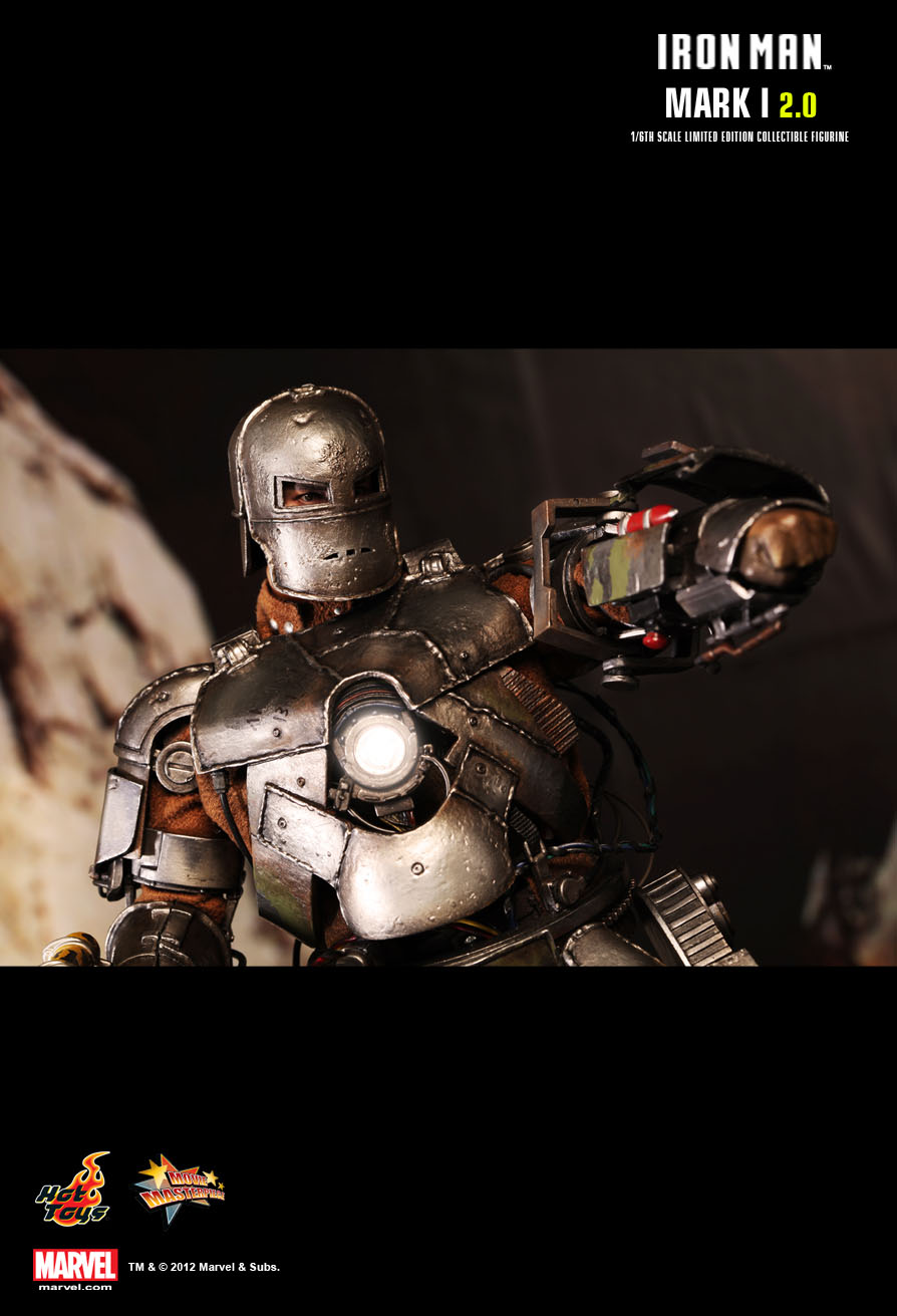 Hot Toys : Iron Man - Mark I (2.0) 1/6th scale Limited ...