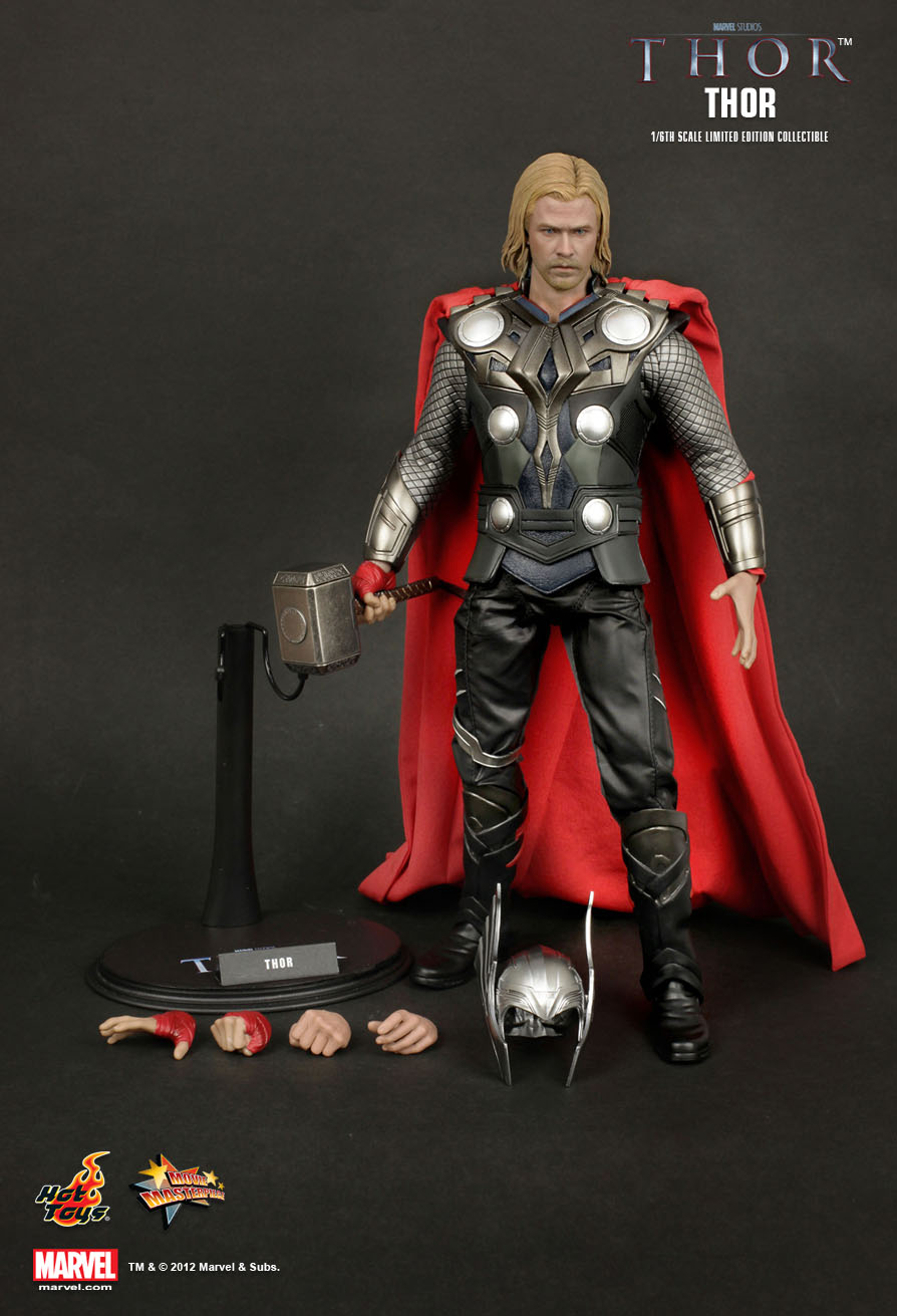hot toys thor thor 16th scale limited edition