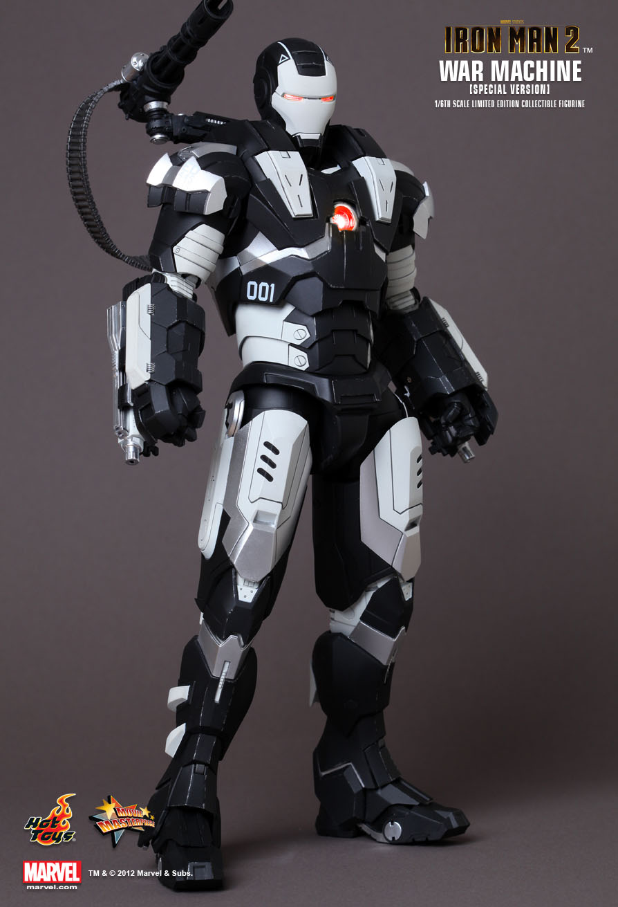 Hot Toys : Iron Man 2 - War Machine (Special Version) 1 ...