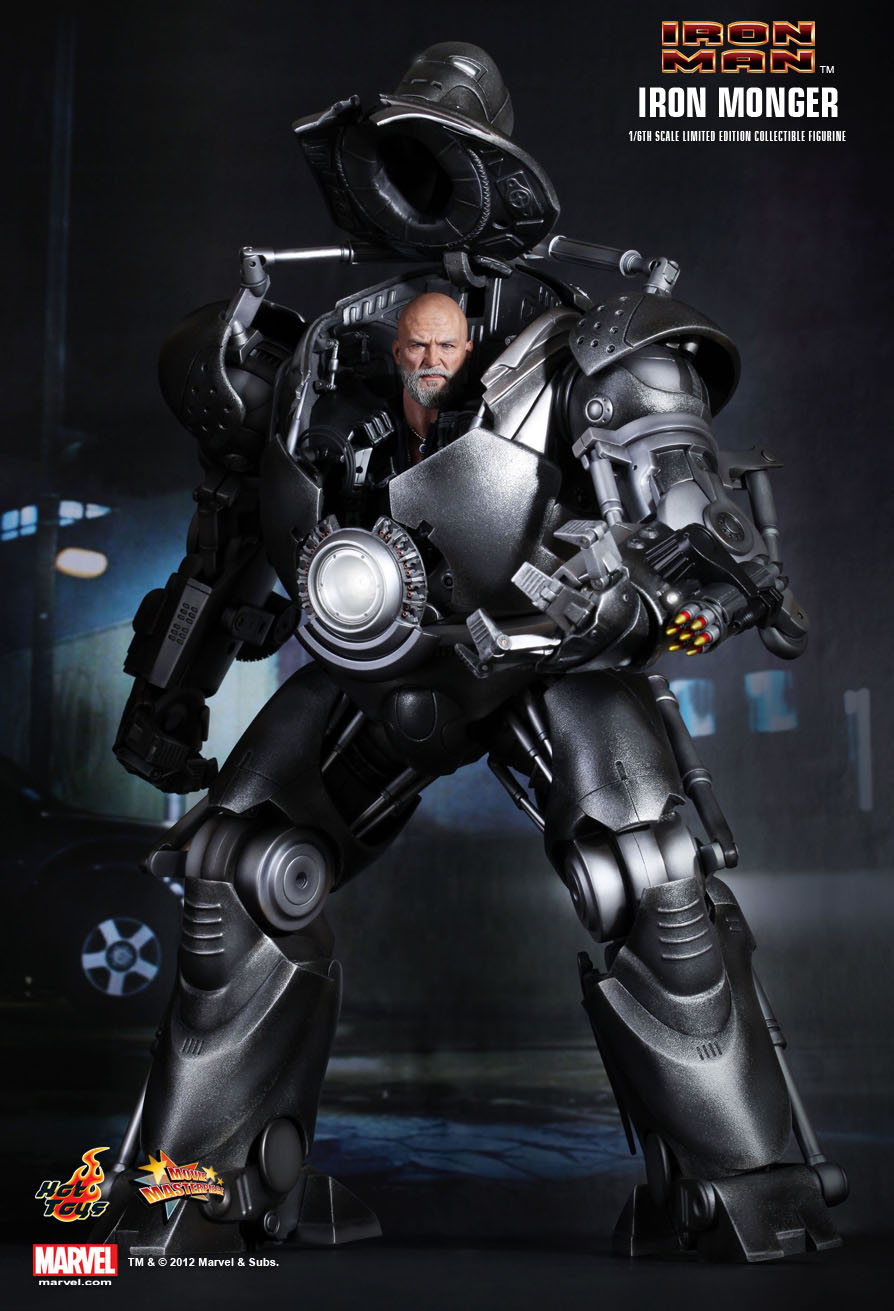 Hot Toys : Iron Man - Iron Monger 1/6th scale Limited ...