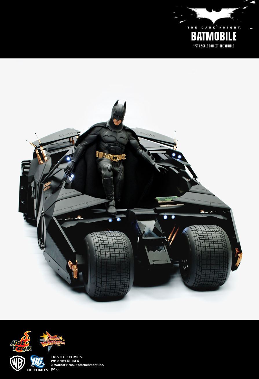 Hot Toys The Dark Knight Batmobile 1 6th Scale