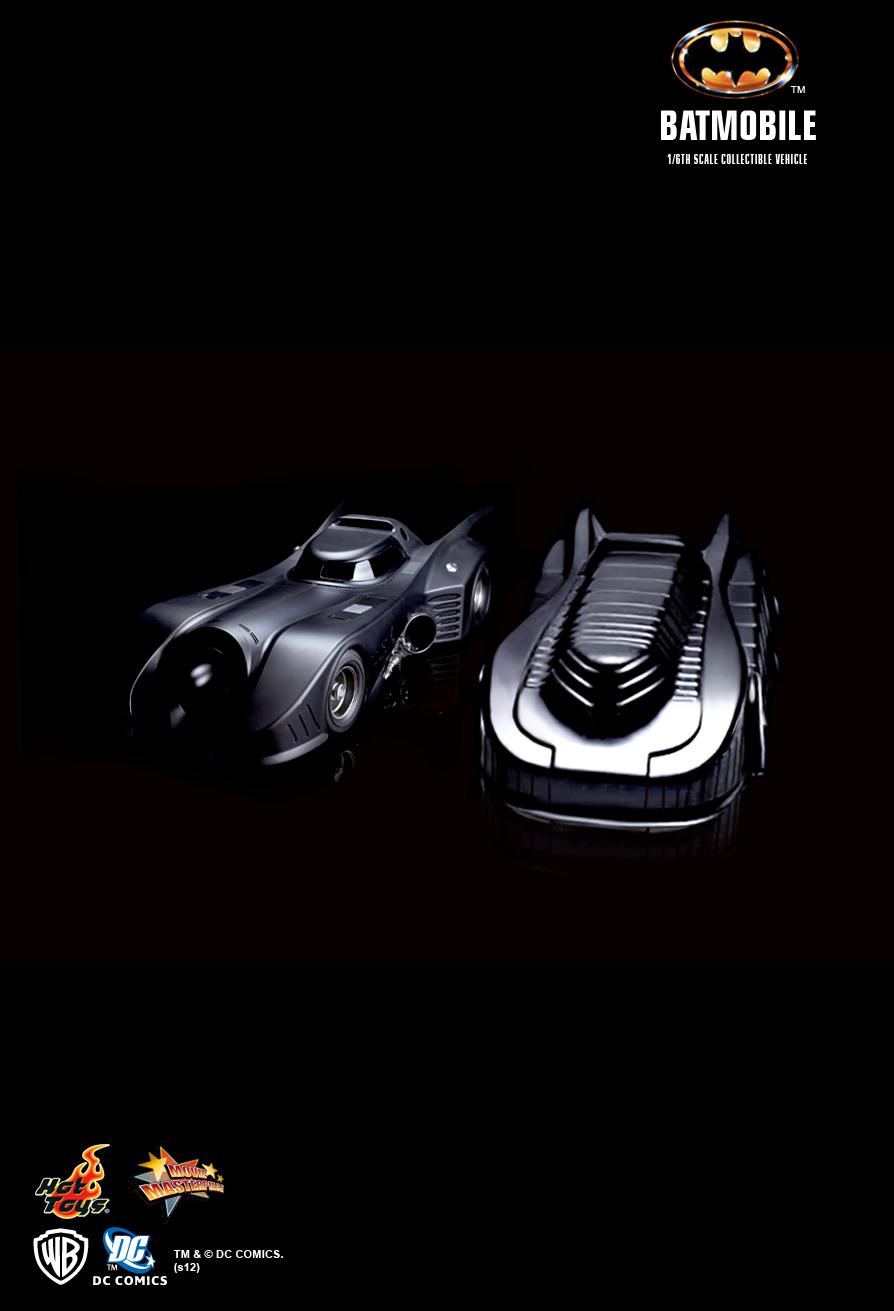 Batmobile Toy Model Hot Toys Batman Batmobile