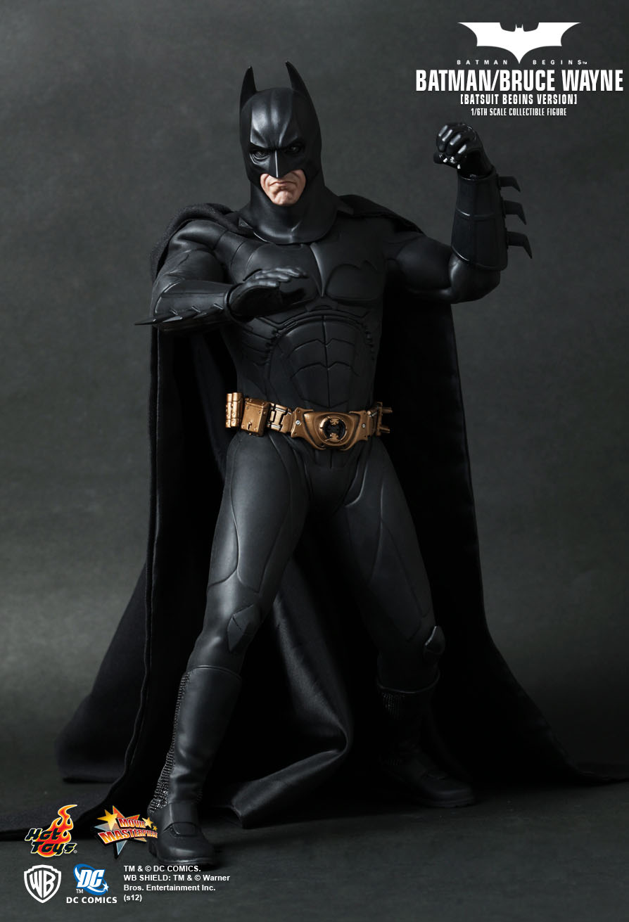 batman begins hot toys images. Black Bedroom Furniture Sets. Home Design Ideas