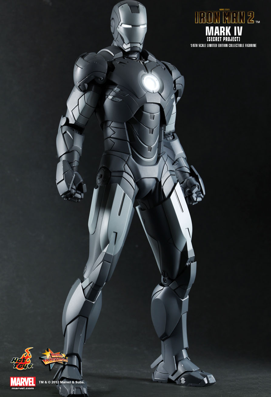 hot toys iron man 2 mark vi 1 6th scale limited. Black Bedroom Furniture Sets. Home Design Ideas