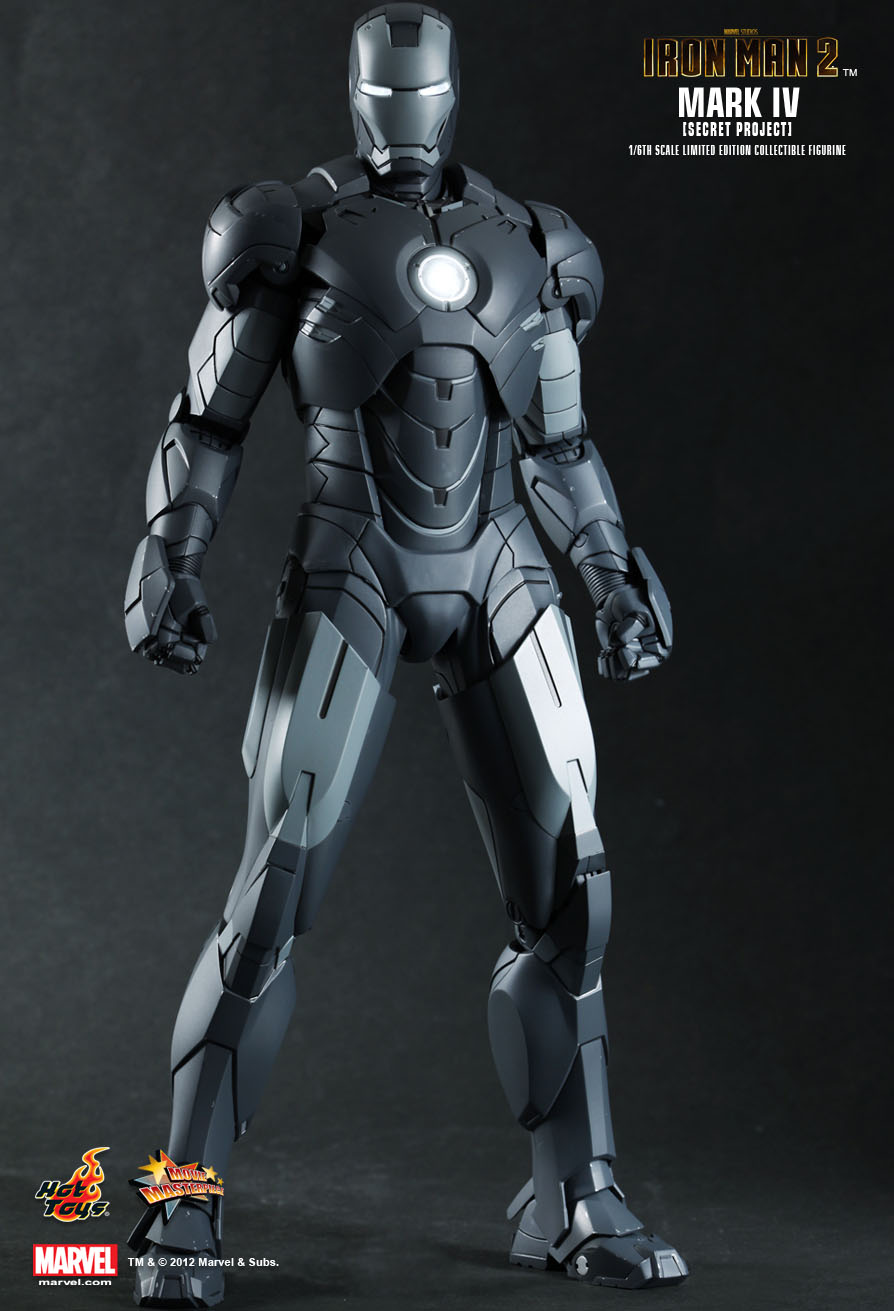 Hot Toys : Iron Man 2 - Mark IV (Secret Project) 1/6th ...