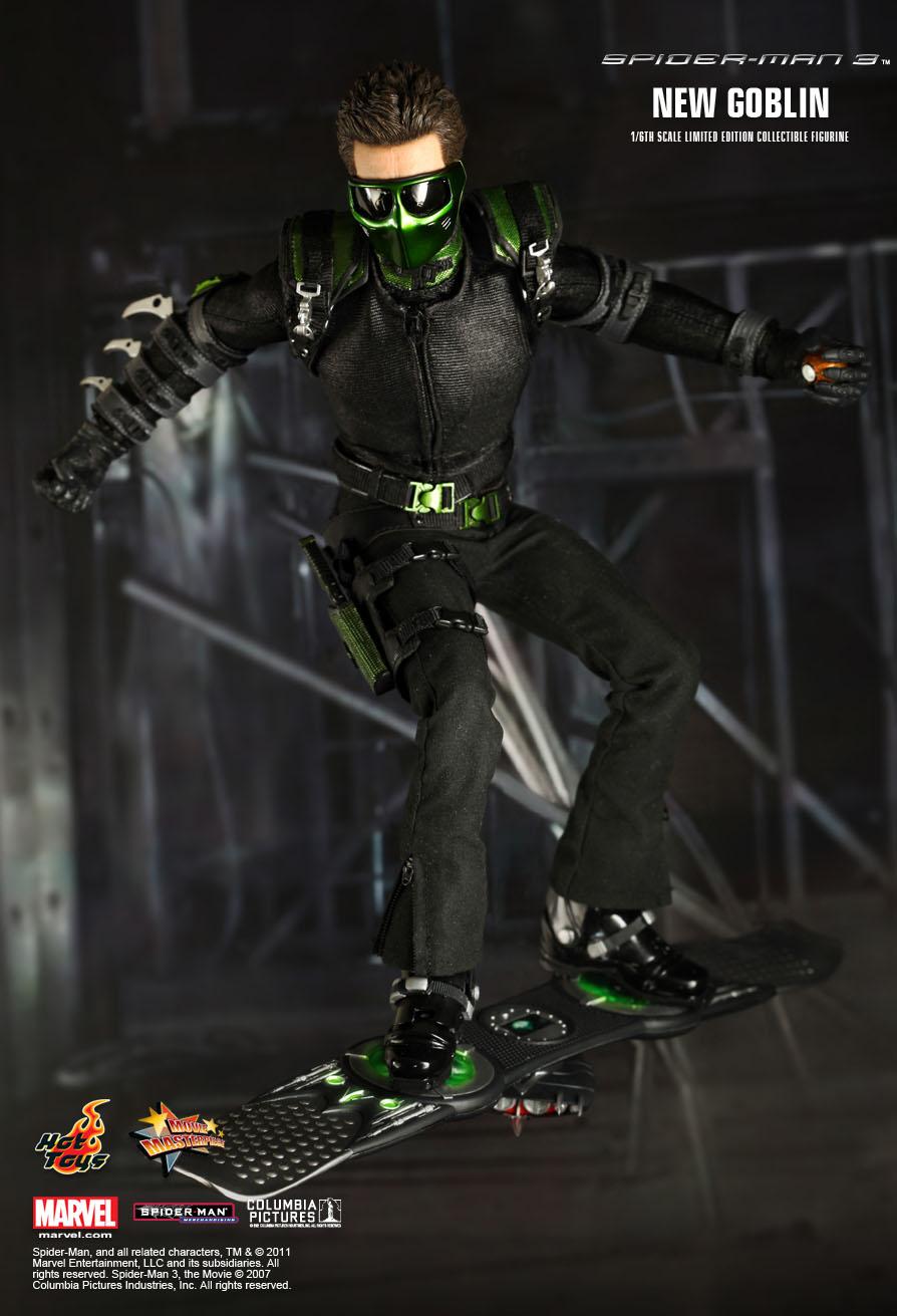 Hot Toys – MMS151 - Spider-Man 3: 1/6th scale New Goblin ... Green Goblin Hot Toys