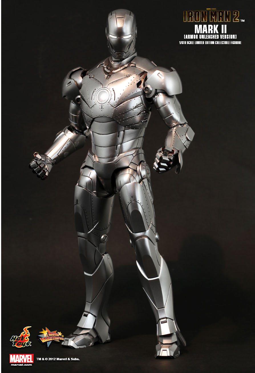 Right Thigh Leg Armor Unleashed Version Hot Toys 1//6 Ironman Mark II