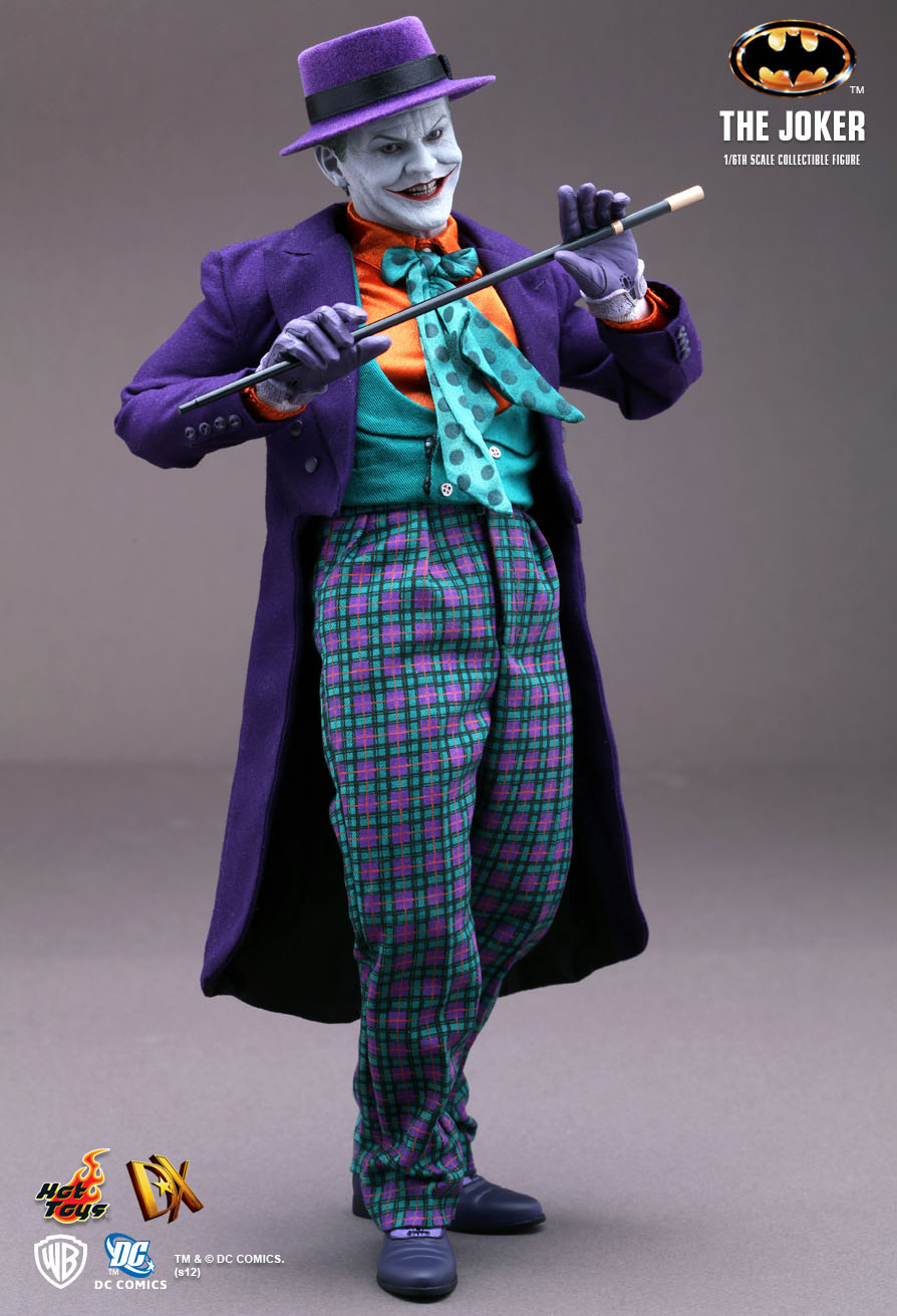 Hot Toys Batman The Joker 1 6th Scale Collectible Figure
