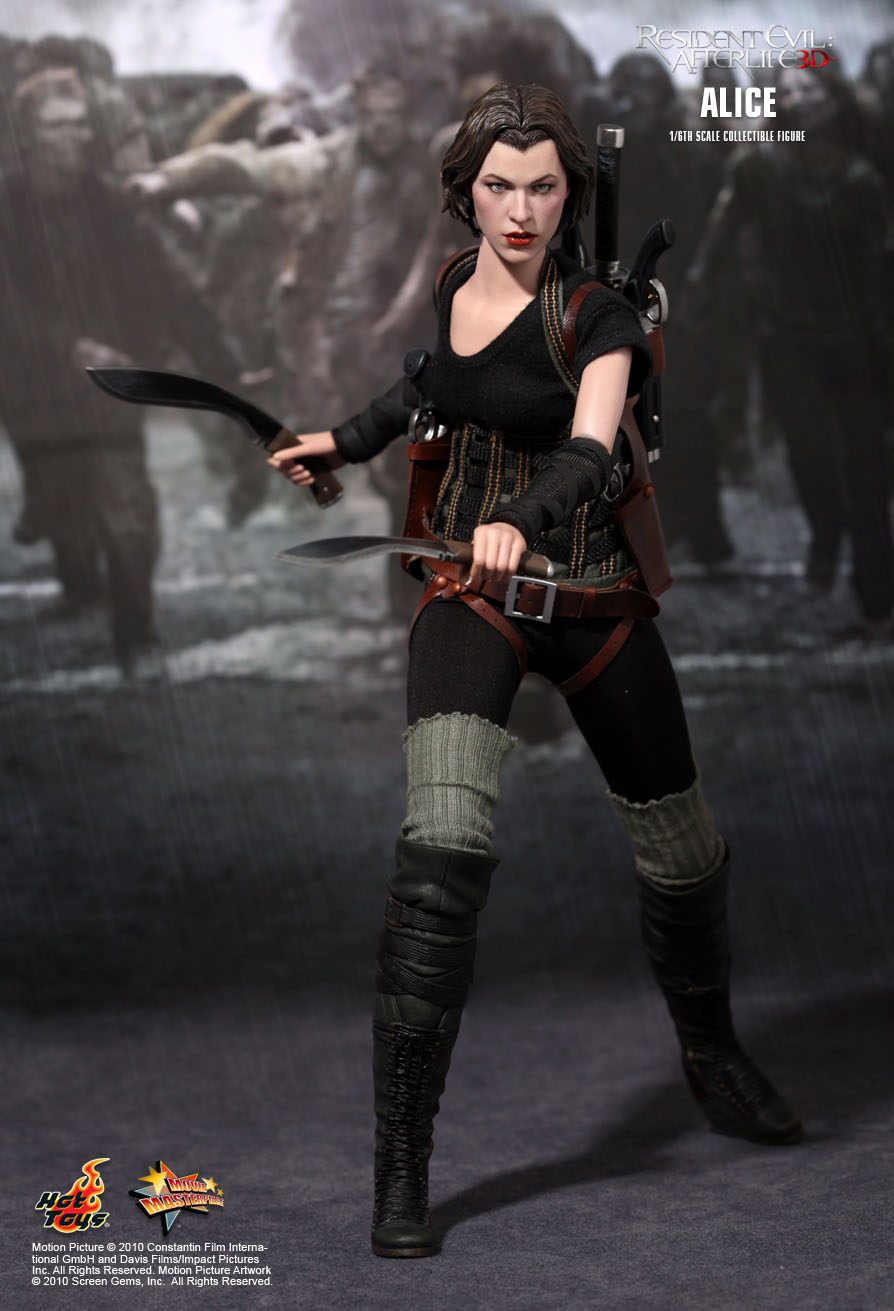 Hot Toys Resident Evil Afterlife Alice 1 6th Scale