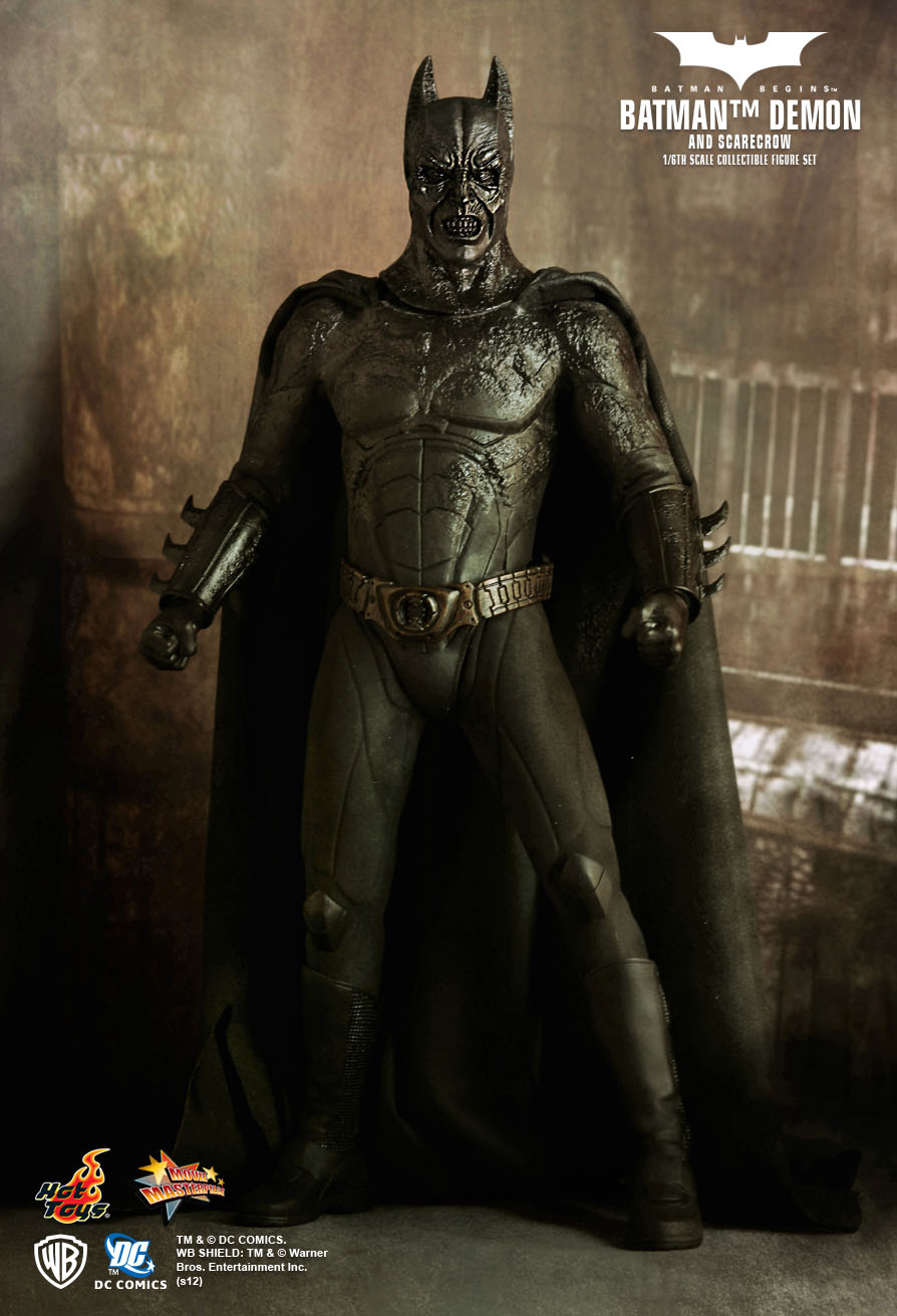 hot toys batman begins batman demon scarecrow hot. Black Bedroom Furniture Sets. Home Design Ideas
