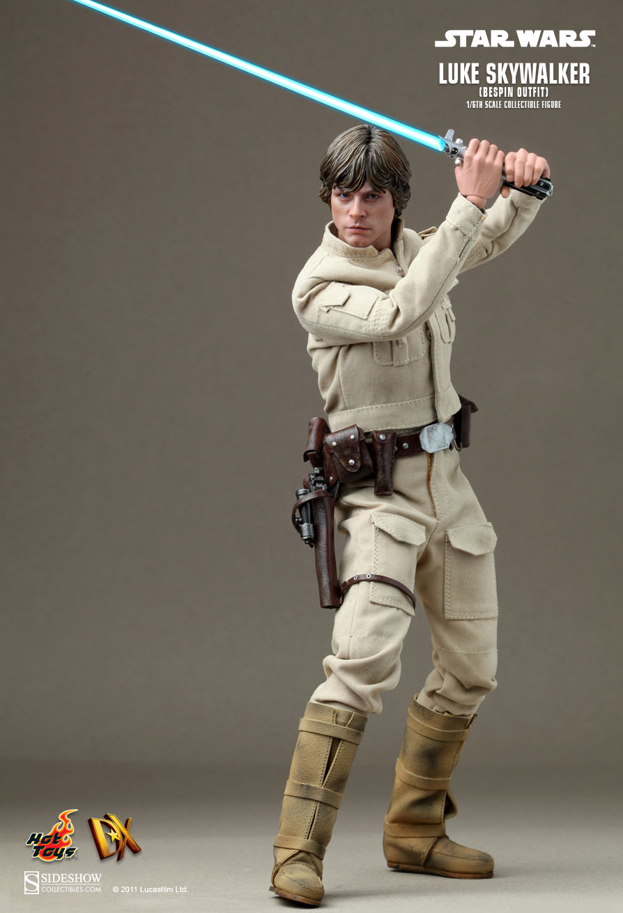 Hot Toys Star Wars Luke Skywalker Bespin Outfit 1