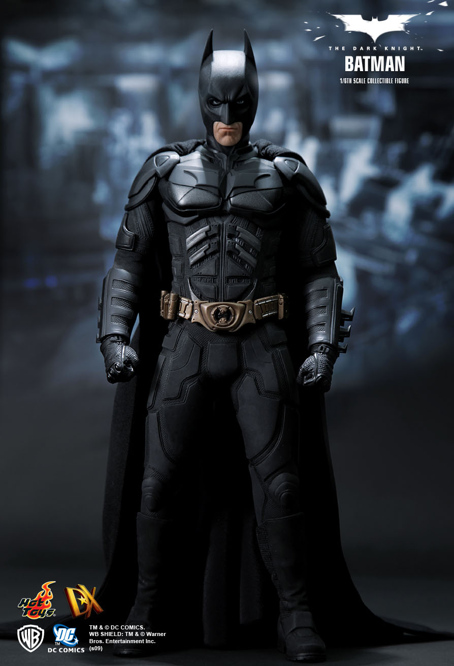 hot toys the dark knight batman 1 6th scale. Black Bedroom Furniture Sets. Home Design Ideas