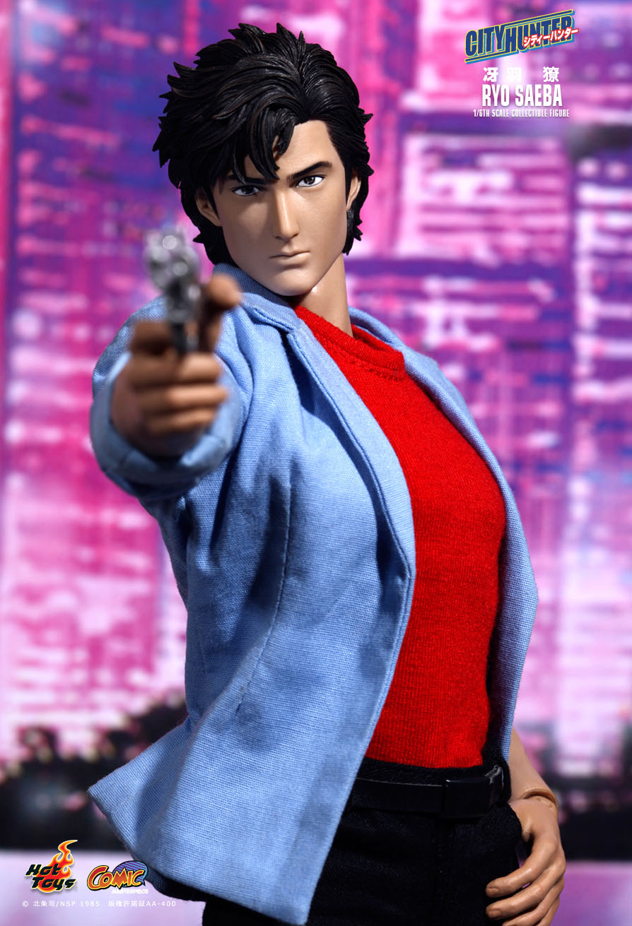Hot Toys City Hunter Ryo Saeba 16th Scale Collectible
