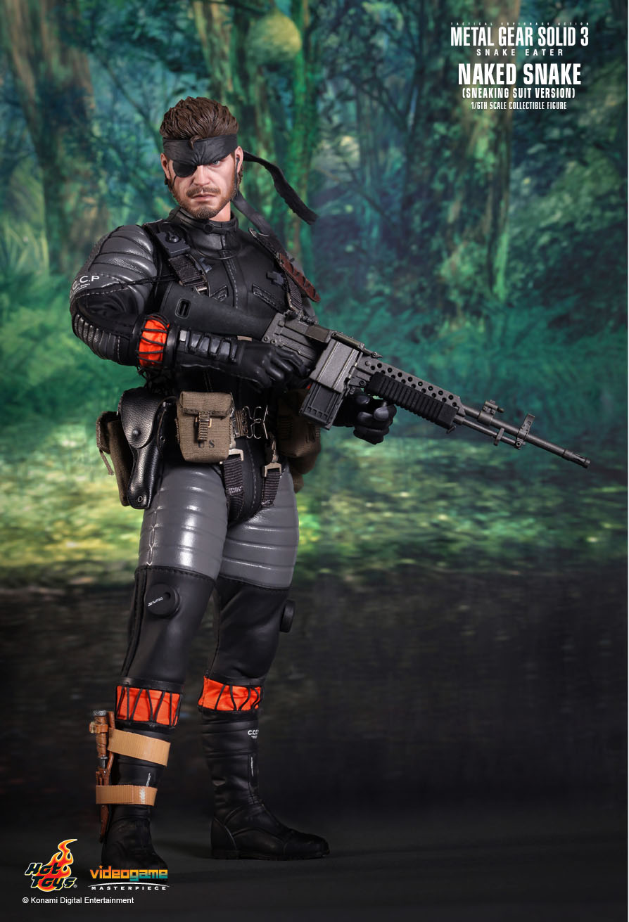 Hot Toys Metal Gear Solid 3 Snake Eater Naked Snake