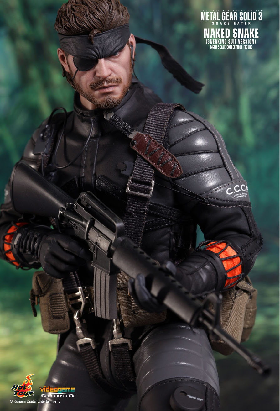 Hot Toys Metal Gear Solid 3 Snake Eater Naked Snake