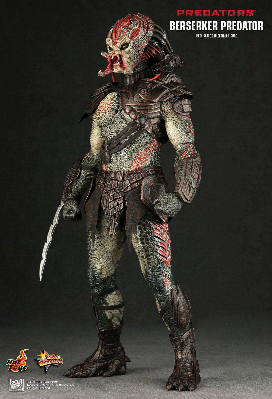 Hot Toys : Predators - Berserker Predator 1/6th scale