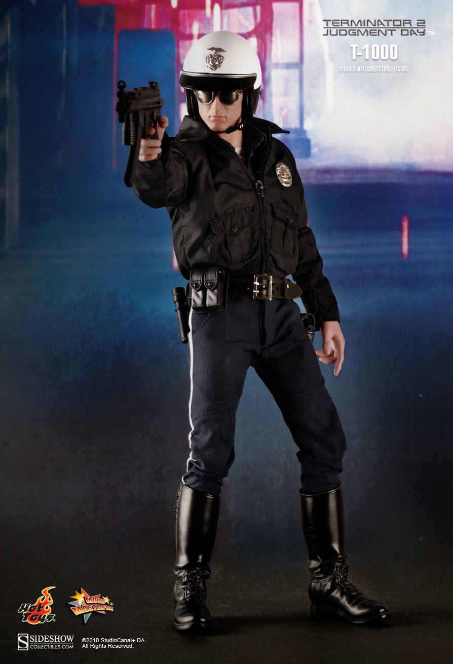 What Is Leather Made Of >> Hot Toys : Terminator 2: Judgment Day - T1000 1/6th scale Collectible Figure