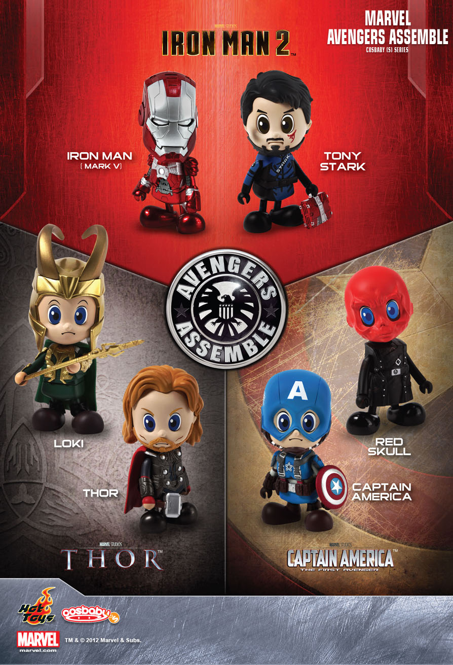 hot toys marvel avengers assemble cosbaby s series