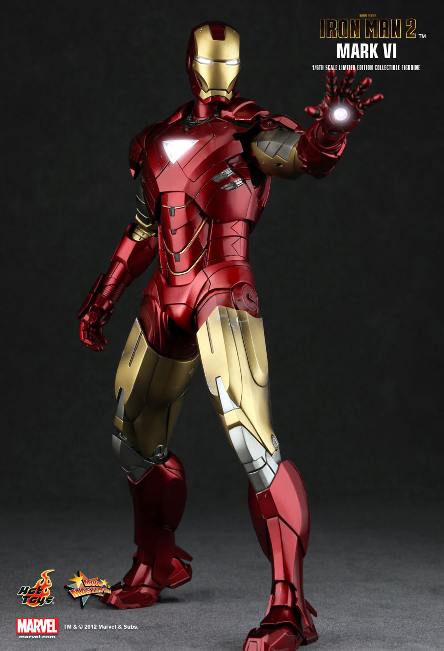 hot toys iron man 2 mark vi 16th scale limited