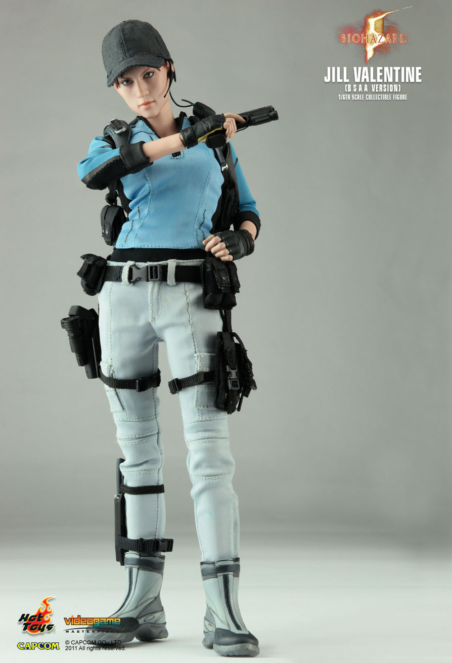 Hot Toys Biohazard 5 Jill Valentine B S A A Version