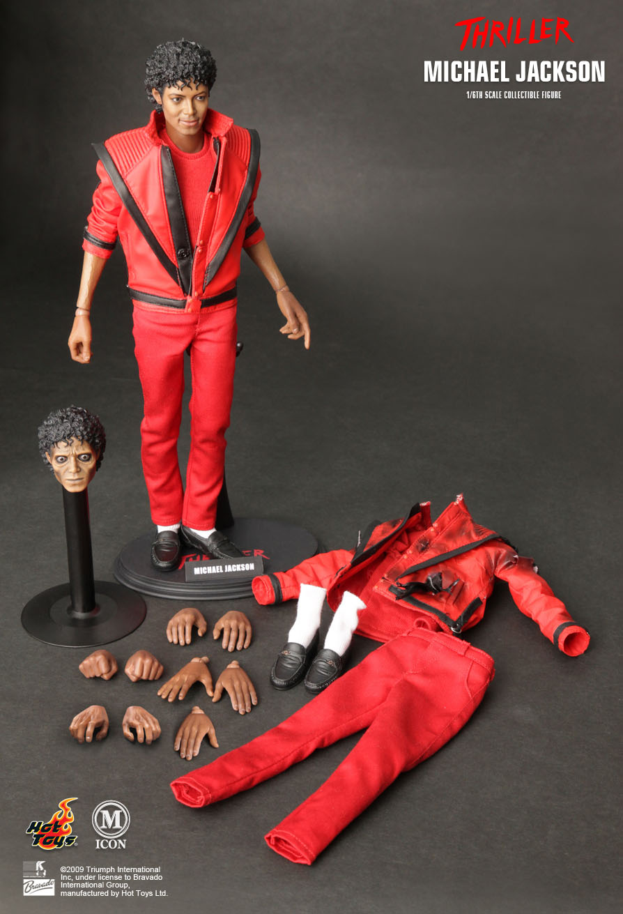 Hot Toys Michael Jackson Thriller Version 1 6th