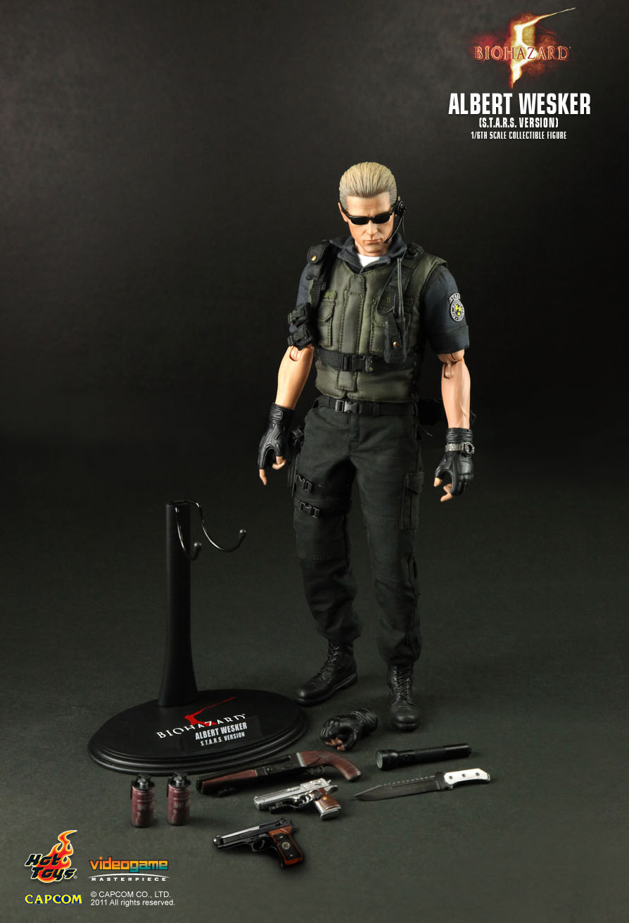Hot Toys Albert Wesker 43