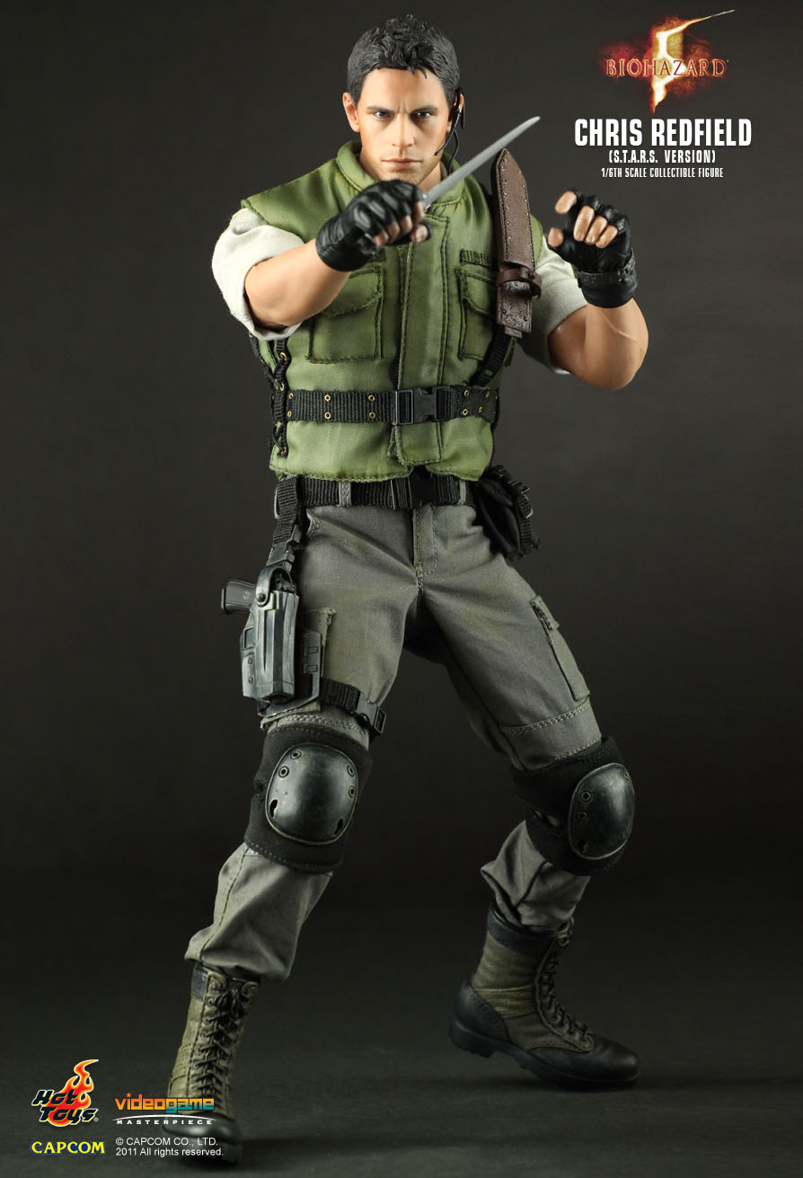 Toys For Chris : Hot toys biohazard chris redfield s t a r ver