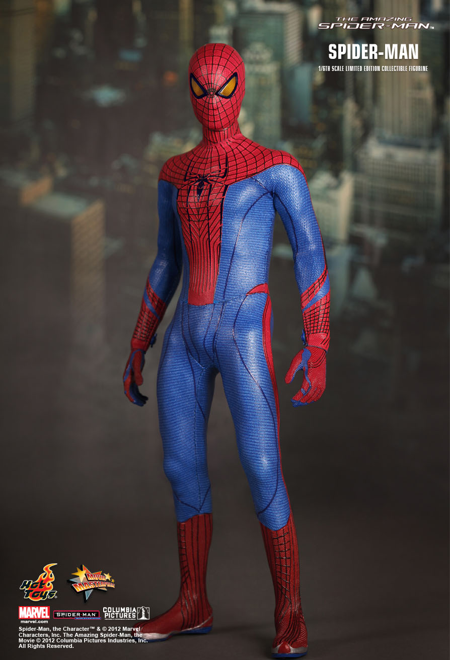 HOT TOYS THE AMAZING SPIDER-MAN 1//6 SCALE FIGURE MMS179 ANDREW GARFIELD NEW
