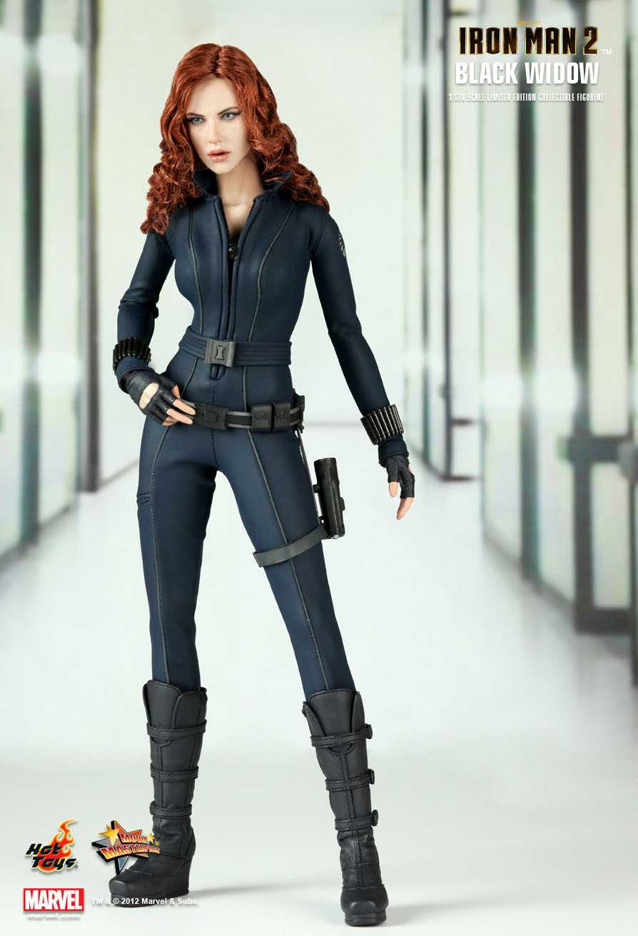Hot Toys Iron Man 2 Black Widow 1 6th Scale Limited
