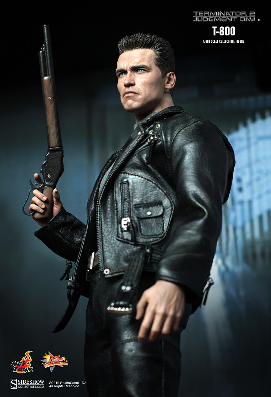 Hot Toys Terminator 2 Judgment Day T800 1 6th Scale
