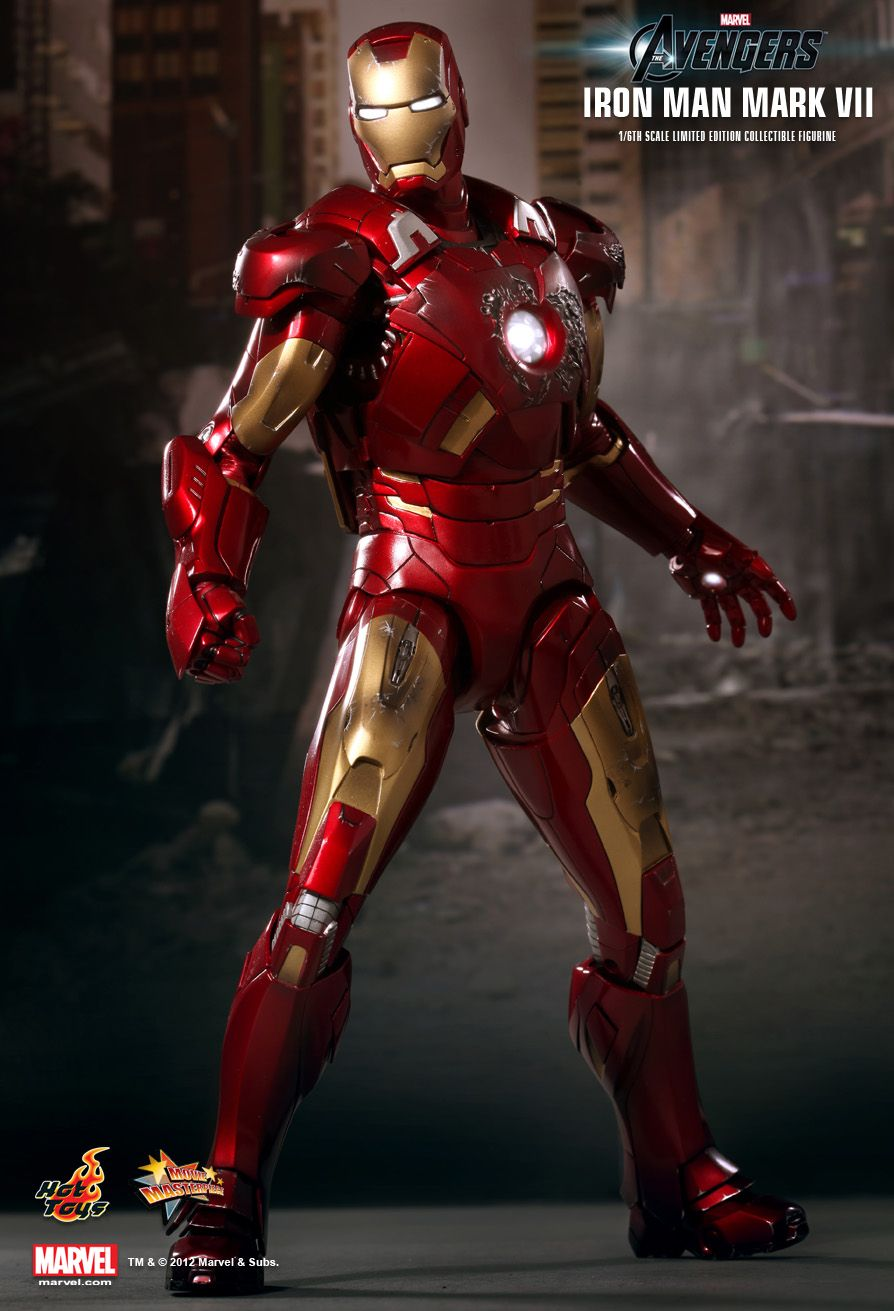 Hot Toys : The Avengers - Mark VII 1/6th scale Limited ...