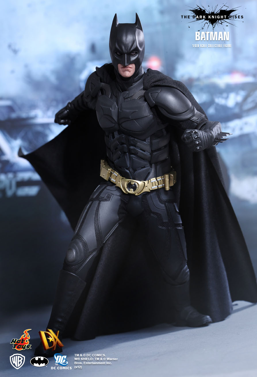 Hot Toys  The Dark Knight Rises - Batman/ Bruce Wayne 1/6th scale Collectible Figure & Hot Toys : The Dark Knight Rises - Batman/ Bruce Wayne 1/6th scale ...