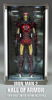 Hot Toys : Iron Man 3 - Hall of Armor (House Party ...