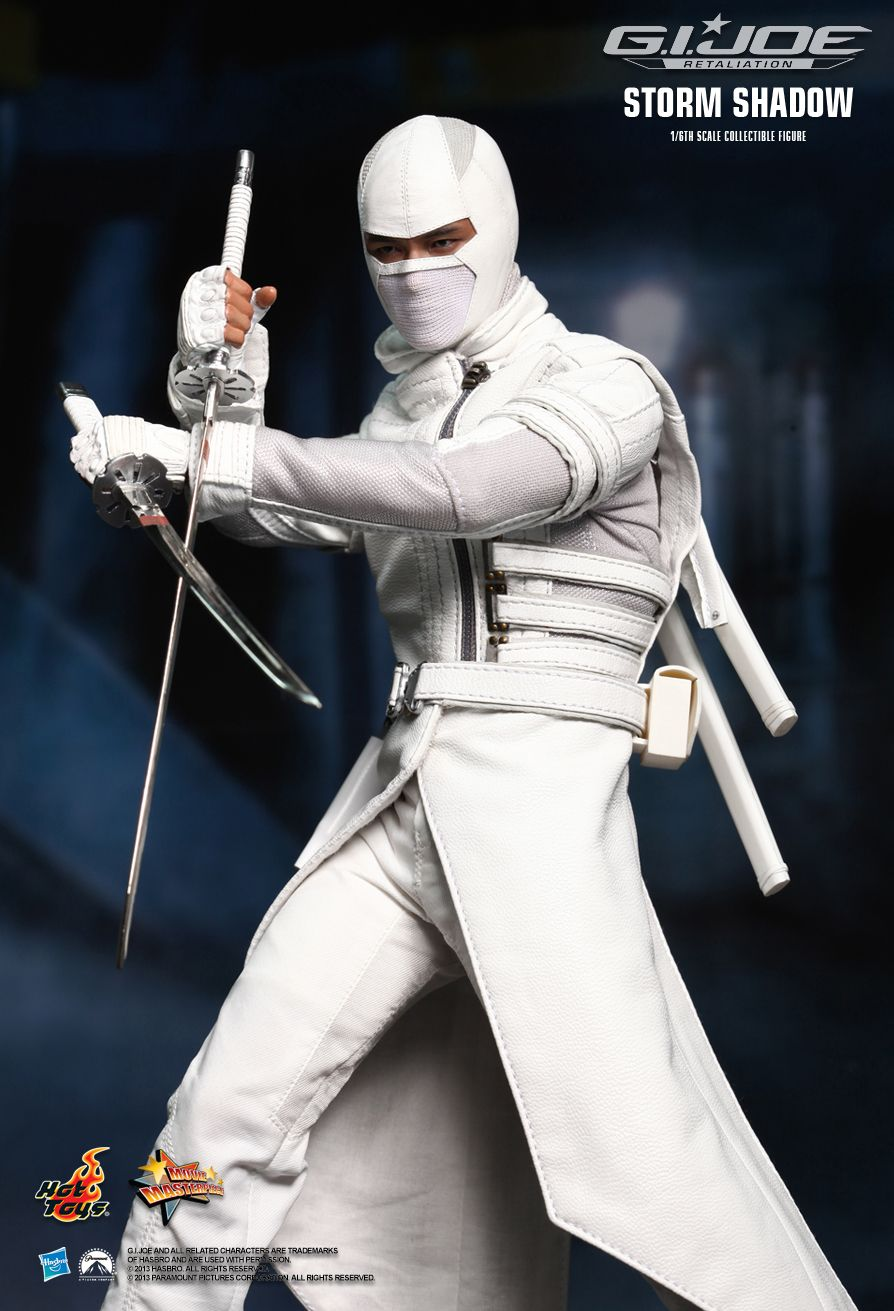 Hot Toys MMS193 G.I.Joe Storm Shadow 1//6 Scale Shoes