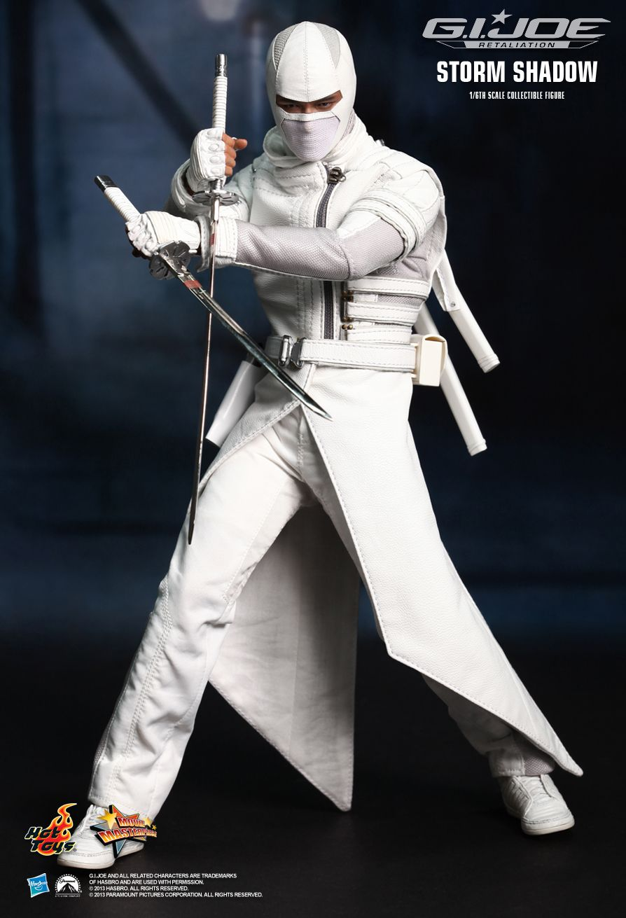 hot toys g i joe retaliation storm shadow 1 6th scale. Black Bedroom Furniture Sets. Home Design Ideas