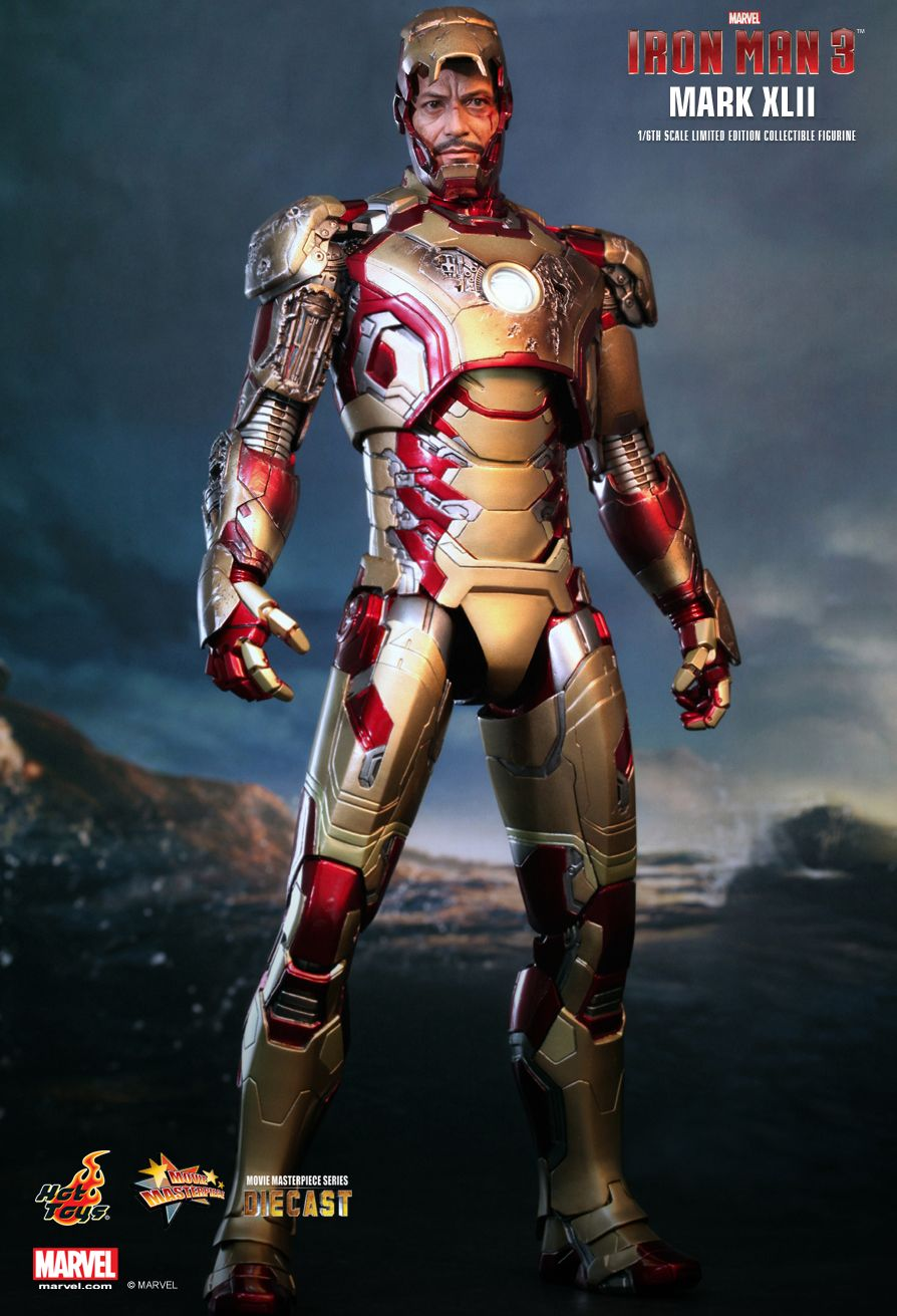 Hot Toys : Iron Man 3 - Mark XLII 1/6th scale Limited