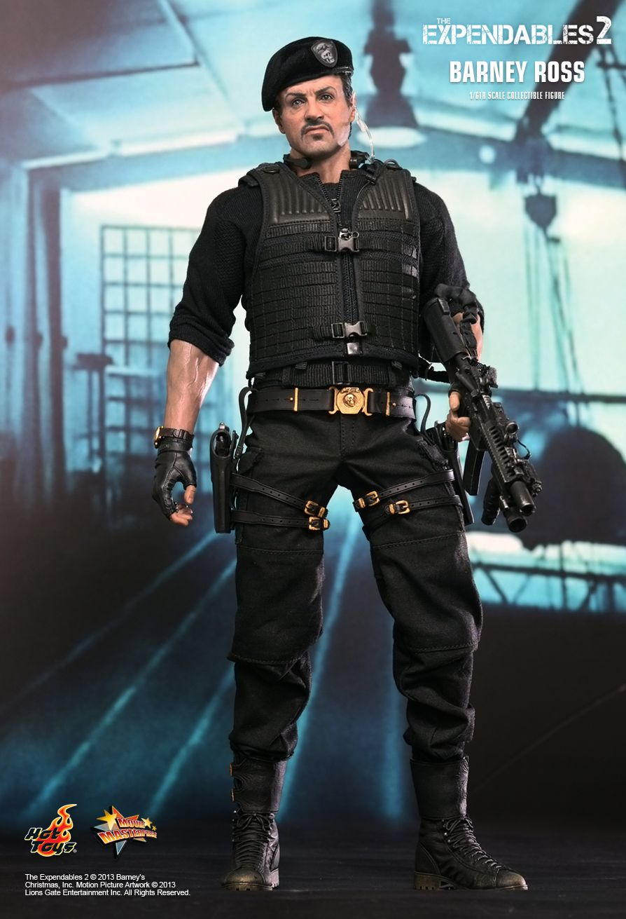 BARNEY ROSS Figure 1//6 SUNGLASSES Hot Toys The Expendables 2