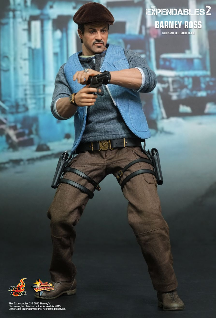 Hot Toys The Expendables 2 Barney Ross 1 6th Scale