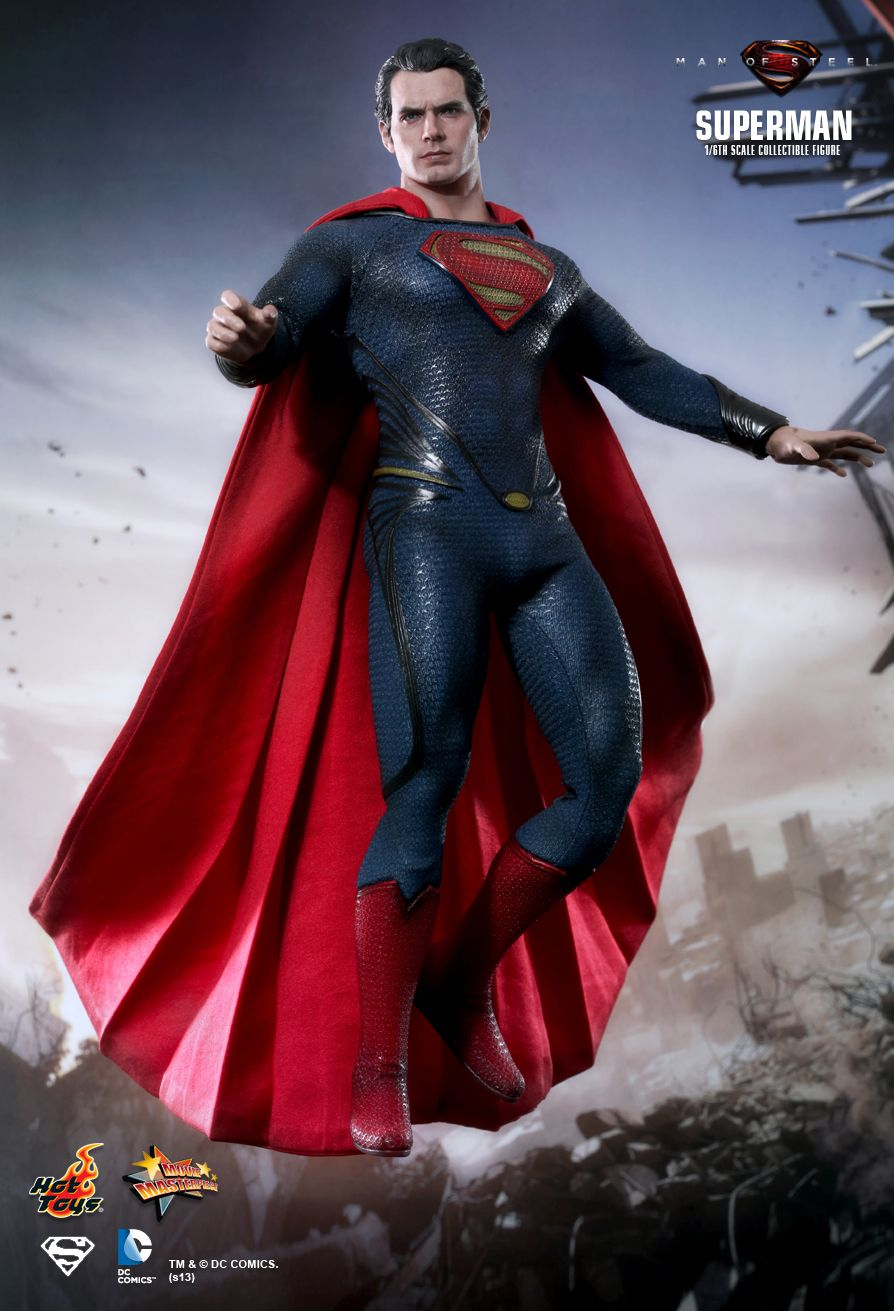 Hot Toys Man Of Steel Superman 1 6th Scale Collectible