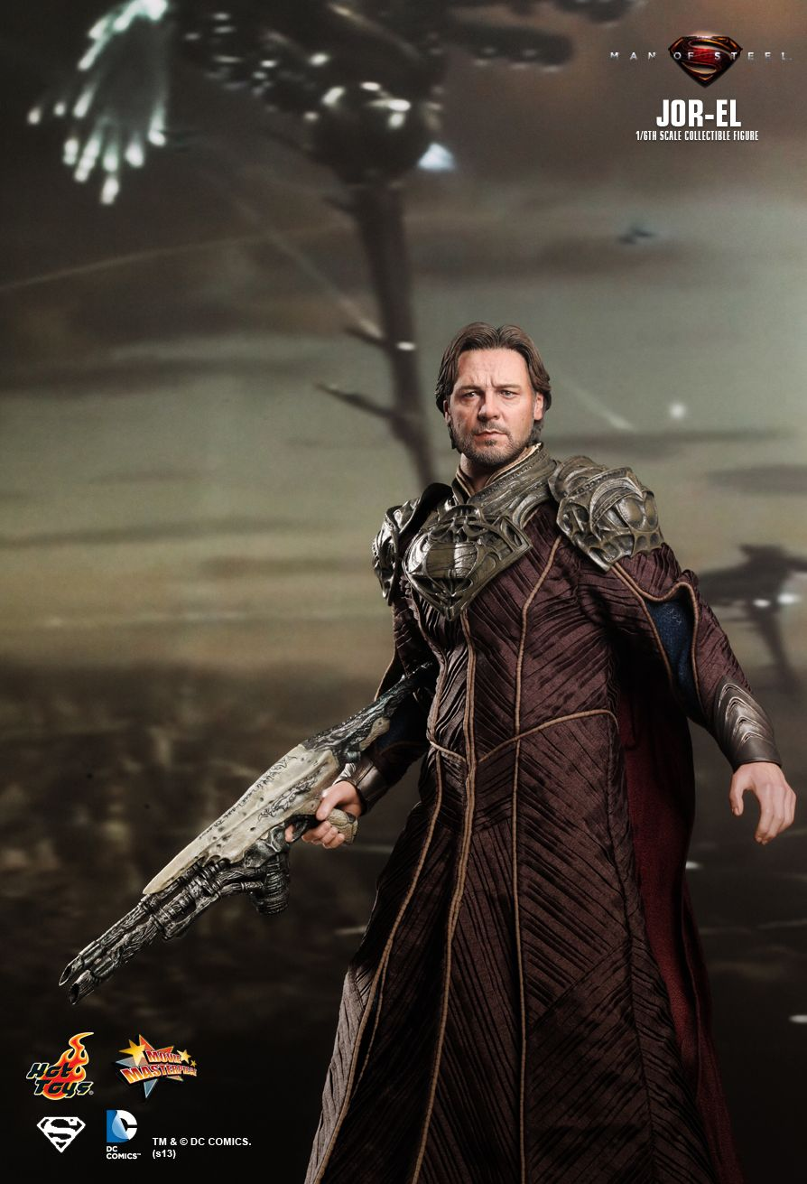 Hot Toys Man Of Steel Jor El 1 6th Scale Collectible