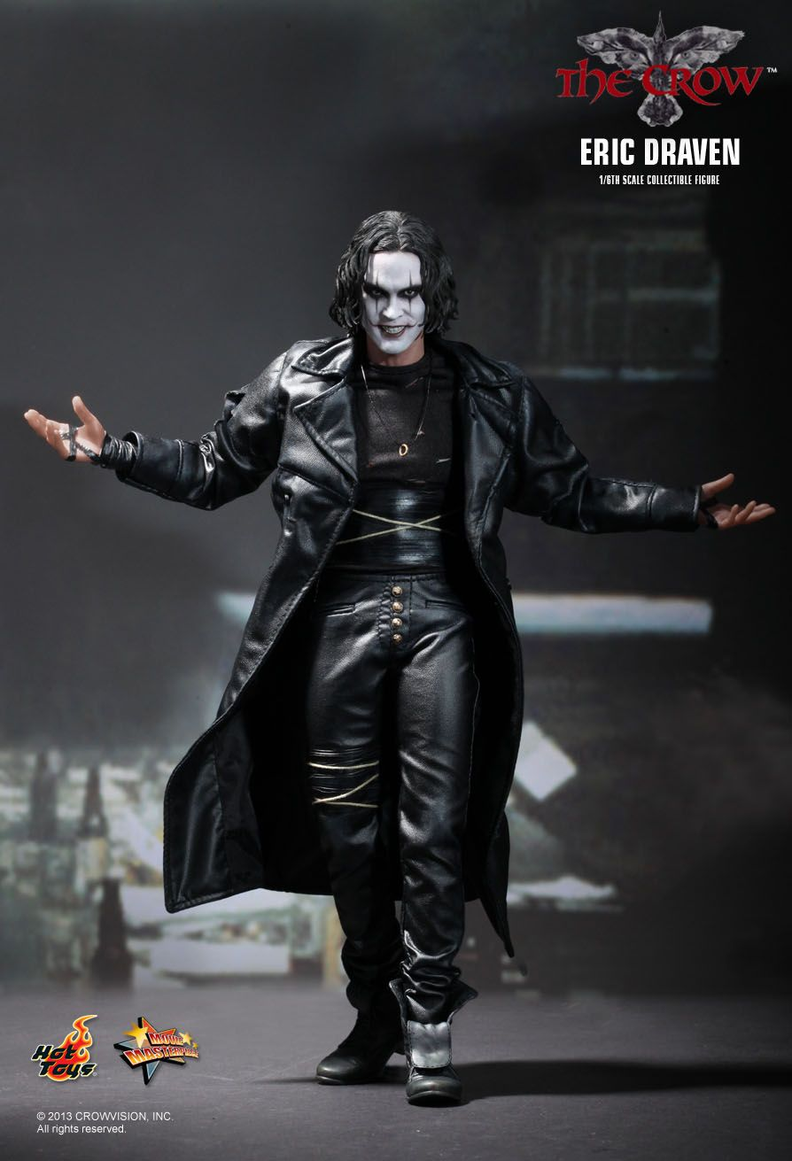 hottoys吧_Hot Toys : The Crow - Eric Draven 1/6th scale collectible figure