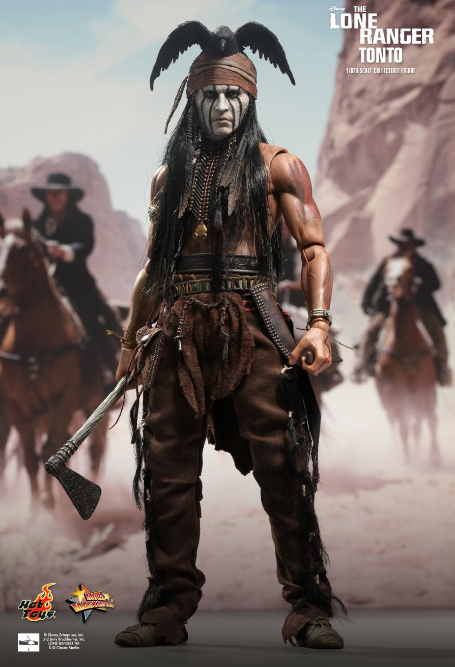 hot toys the lone ranger tonto 16th scale collectible