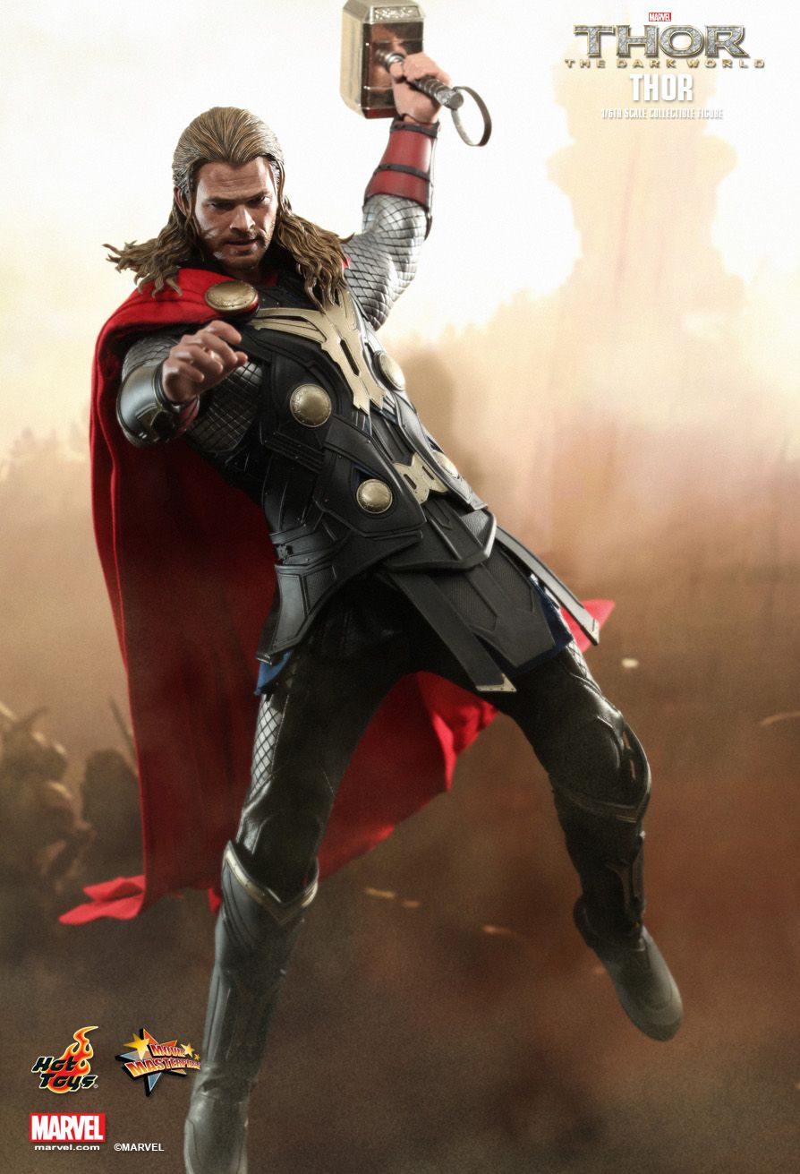Hot Toys : Thor: The Dark World - Thor 1/6th scale ...