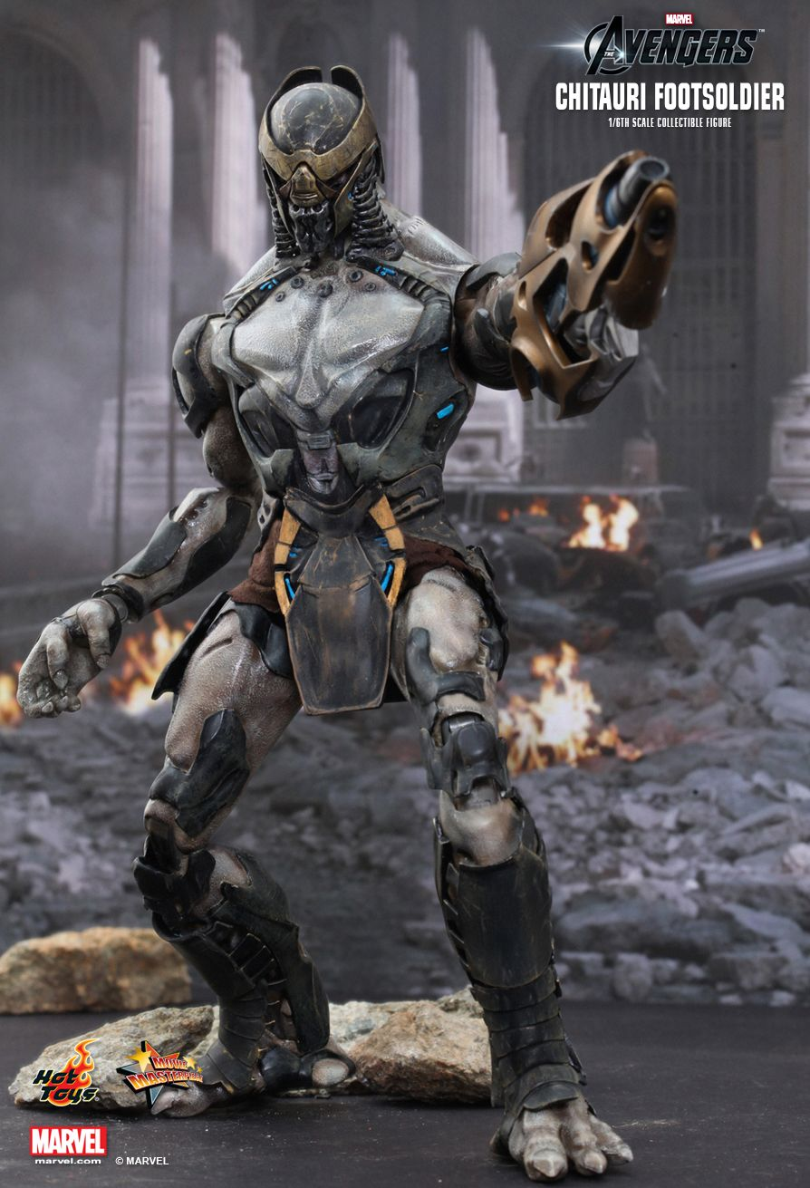 Hot Toys - MMS226 - The Avengers - Chitauri Foot Soldier Sale