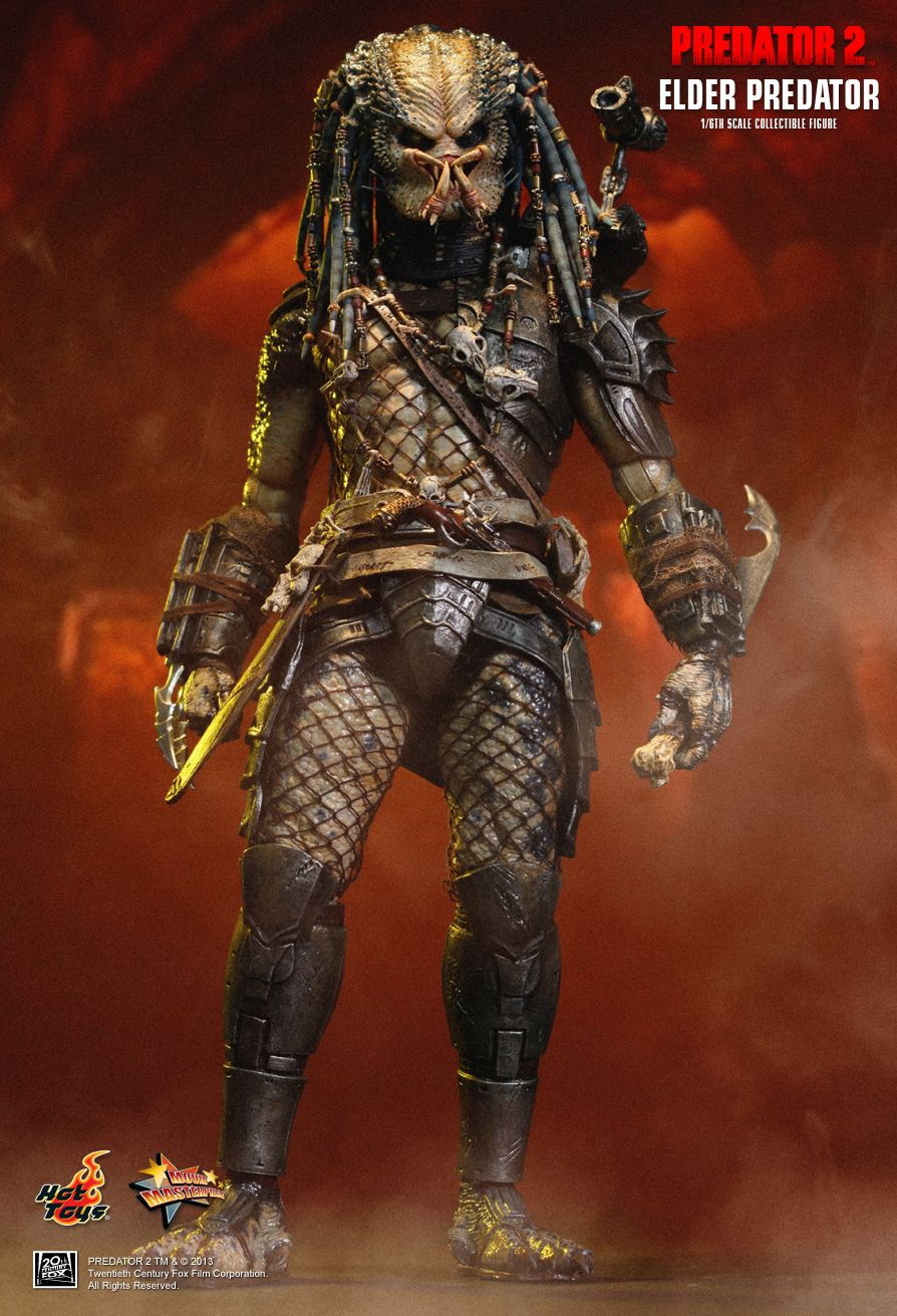 Predator 2 Guns Hot Toys Predator 2 Elder