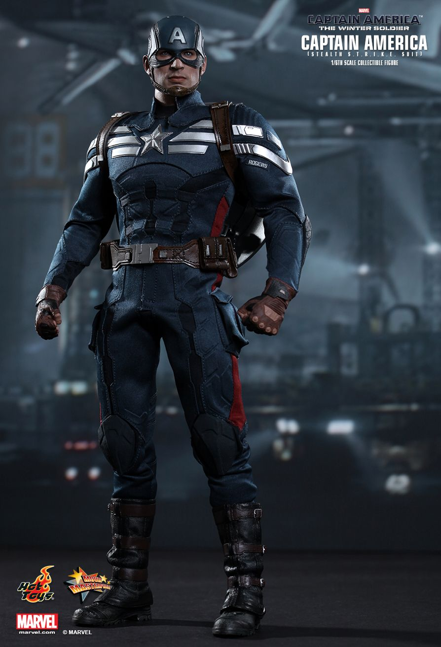 hot toys captain america the winter soldier captain. Black Bedroom Furniture Sets. Home Design Ideas